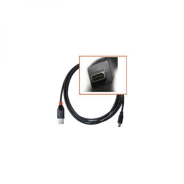 USB cable (2.0), USB A M- 8 pin M, 1.8m, black, Logo, blistr, SAMSUNG