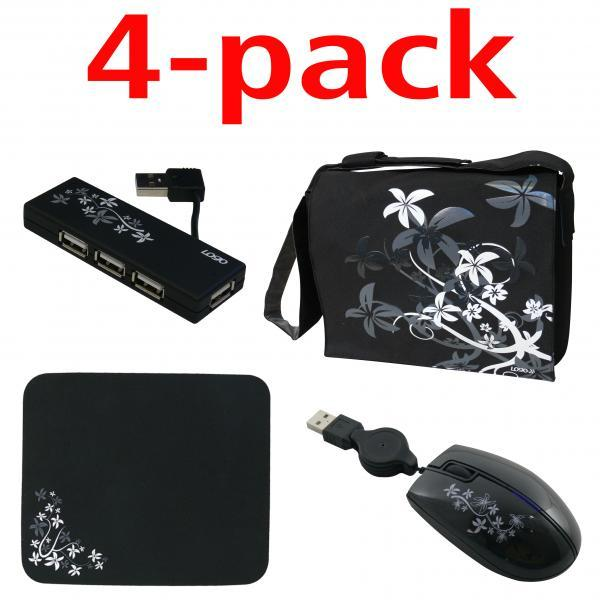 Stylish set for laptop, 16