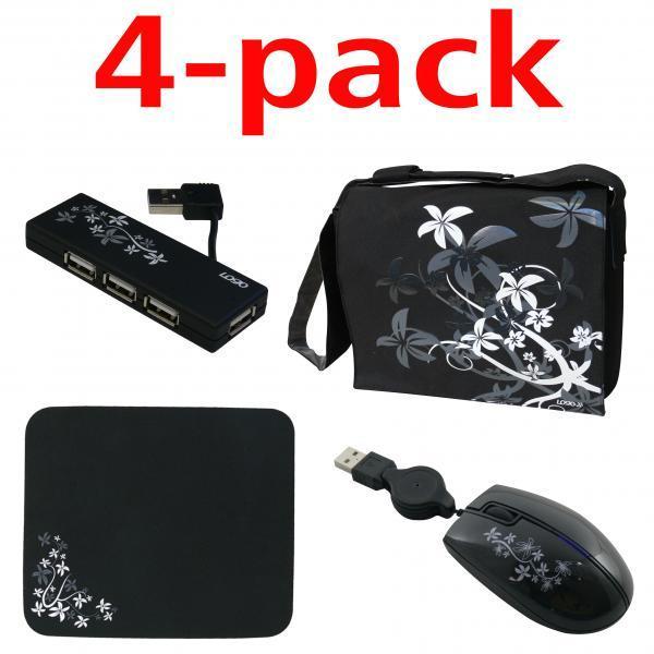 Stylish set for laptop, 16