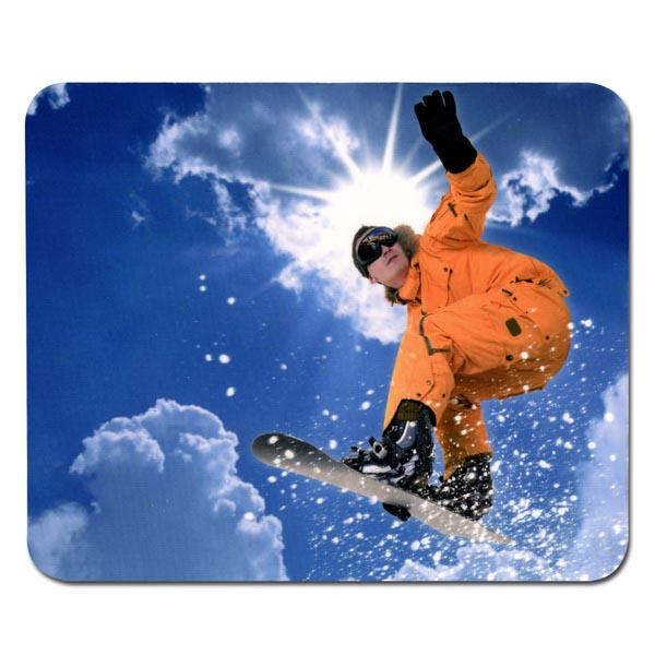 Mouse pad, Snowboardista, Logo