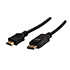 Kabel DisplayPort M- HDMI M, 1m, black, Logo, blister pack
