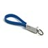 USB cable (2.0), USB A M- USB micro M, 0.2m, blue, Logo, blistr, key case