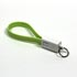 USB cable (2.0), USB A M- USB micro M, 0.2m, light green, Logo, blistr, key case