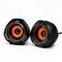 Logo loudspeakers 2.0, 5W, black, volume control